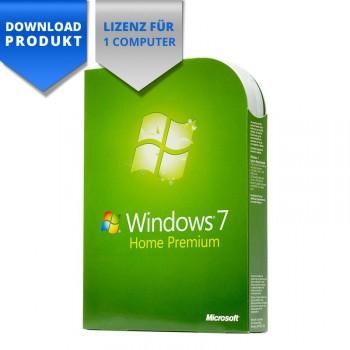 windows 7 home premium 32 64 bit f r einen computer. Black Bedroom Furniture Sets. Home Design Ideas