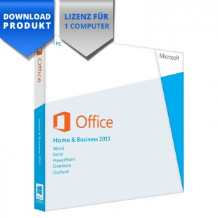 Microsoft Office 2013 Home & Business - 32/64-Bit - für 1 Computer
