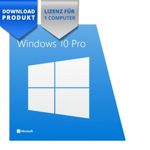 Windows 10 Professional - 32/64-Bit - for 1 Computer