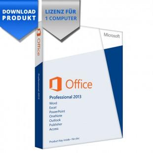 Microsoft Office 2013 Professional - 32/64-Bit - für 1 Computer