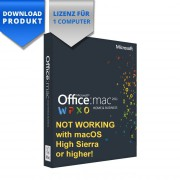 Mac OS X Office 2011 Home & Business for Mac for 1 Computer
